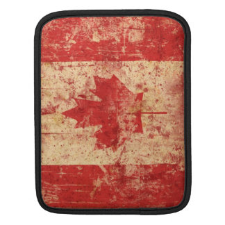 Kanada-Schmutz-Flagge iPad/iPad 2 Hülsen-Abdeckung iPad Sleeve