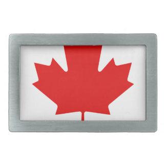Kanada-Stolz-Regenbogen-Flagge Rechteckige Gürtelschnallen