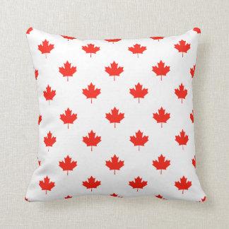 Kanada-Tag Ihre Hintergrund-Farbe Kissen