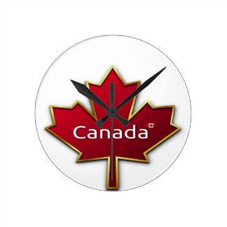 Kanada-Tag Runde Wanduhr