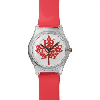 Kanada-Tagesfeier Armbanduhr