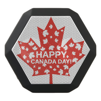 Kanada-Tagesfeier Schwarze Bluetooth Lautsprecher