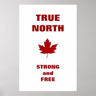 Kanada-TagesRotahorn-Blatt-Hymnen-Plakat