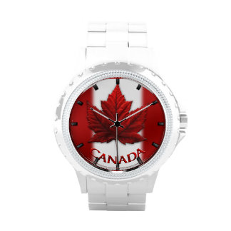 Kanada-Uhr-Kanada-Andenken-Armbanduhr