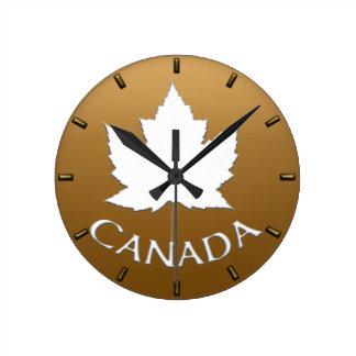 Kanada-Uhr-Kanada-Andenken-Wanduhren fertigen Wanduhren