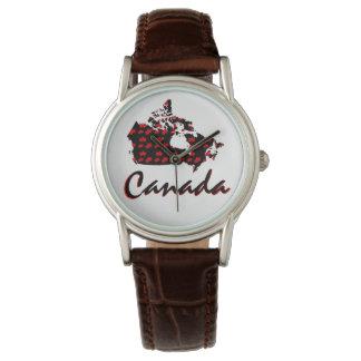 Kanada-Uhr Rotahorn des einzigartigen Spaßes Armbanduhr