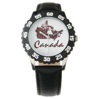 Kanada-Uhr Rotahorn des einzigartigen Spaßes Uhr