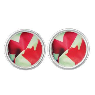 Kanada- und Großbritannien-Flaggen Manschettenknöpfe