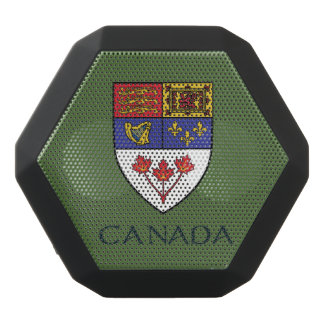 Kanada-Wappen Schwarze Bluetooth Lautsprecher