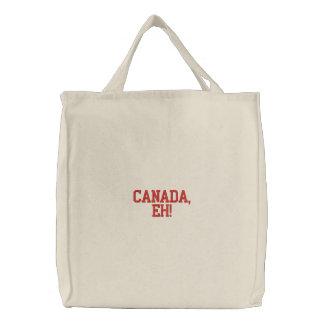 Kanada, wie stickte Taschen-Tasche Bestickte Tragetasche
