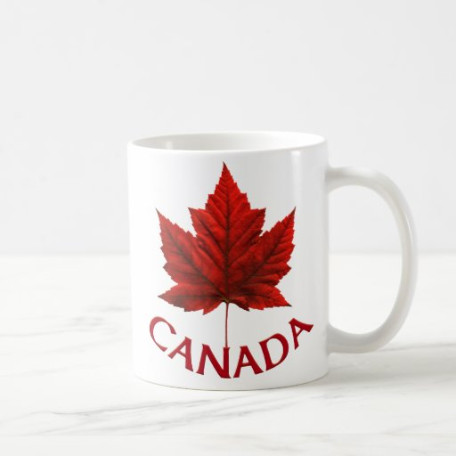 Kanadaschalen-u. -Tassen-Kanada-Ahorn-Blatt-Andenk