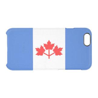Kanadier-Pearson-Wimpel-freier Raum iPhone Fall Durchsichtige iPhone 6/6S Hülle