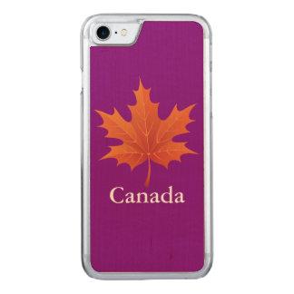 Kanadisch Carved iPhone 8/7 Hülle