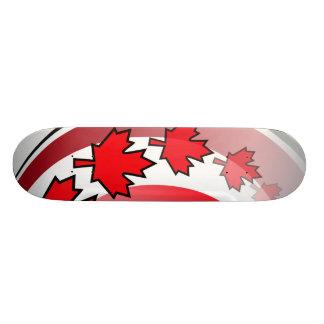 Kanadische Ahornblatt-Plattform 20,6 Cm Skateboard Deck