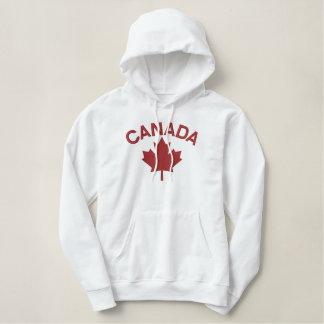 Kanadische Ahornblatt-Stickerei KANADA Bestickter Hoodie