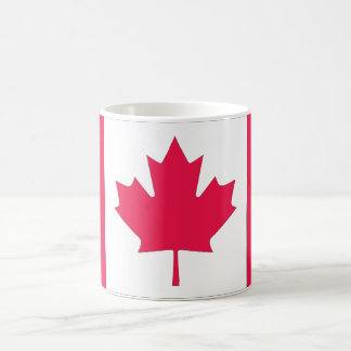 Kanadische Ahornblattklassikerflagge Kaffeetasse