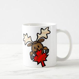 Kanadische Elche Kaffeetasse