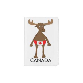 Kanadische Elche Passhülle