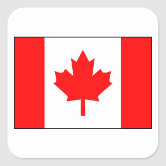Kanadische Flagge Stickers