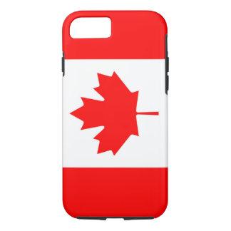 Kanadische Flagge des Kanada-Rotahorn-Blattes iPhone 8/7 Hülle
