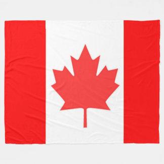 KANADISCHE FLAGGE FLEECEDECKE