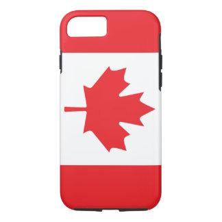 Kanadische Flagge mit Rotahorn-Blatt iPhone 8/7 Hülle