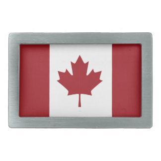 Kanadische Flagge Rechteckige Gürtelschnallen