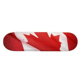 Kanadische Flagge Personalisiertes Skateboard