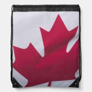 Kanadische Flagge Sportbeutel