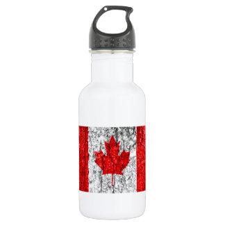 Kanadische Flaggen-Baumrinde Trinkflasche