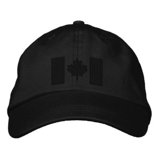 Kanadische Flaggen-Stickerei Bestickte Baseballcaps