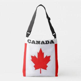 Kanadische Flaggen-Taschen-Tasche Tragetaschen Mit Langen Trägern