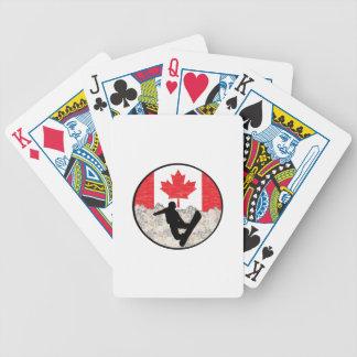 Kanadische Internatsschüler Bicycle Spielkarten