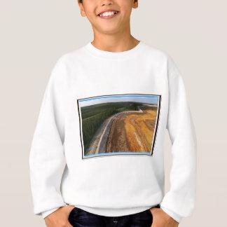 Kanadische Landschaft der geschlossenen Sweatshirt