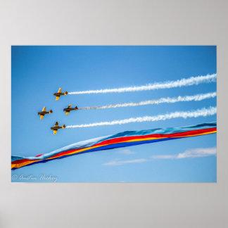 Kanadische Marine-Flugzeuge Poster