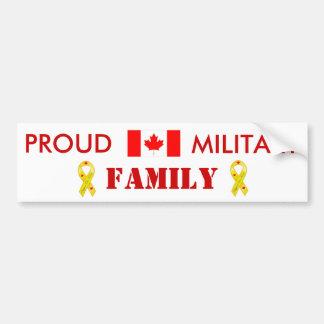 Kanadische Militärfamilie Autoaufkleber