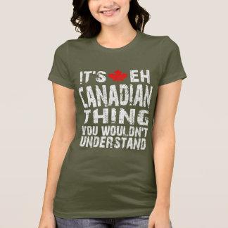 Kanadische Sache T-Shirt