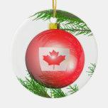 Kanadische Weihnachtsbaum-Dekoration Weihnachtsbaum Ornamente