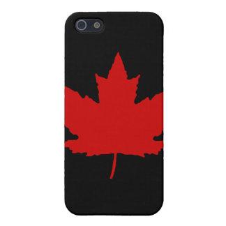Kanadischer Ahornblatt iPhone 4 Fall iPhone 5 Etui