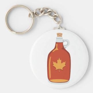 Kanadischer Ahornsirup Schlüsselanhänger