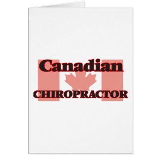 Kanadischer Chiropraktor Karte