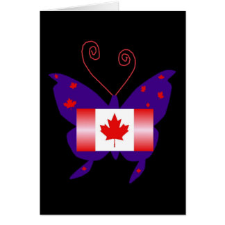 Kanadischer Diva-Schmetterling Karten