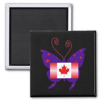 Kanadischer Diva-Schmetterling Magnete