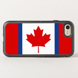 Kanadischer Dualitäts-Flagge OtterBox iPhone Fall OtterBox Symmetry iPhone 8/7 Hülle