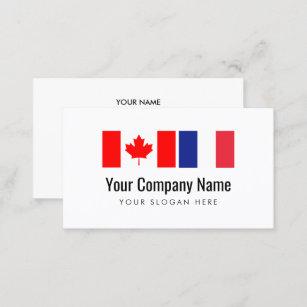Translation Canadian English French Translator Visitenkarte
