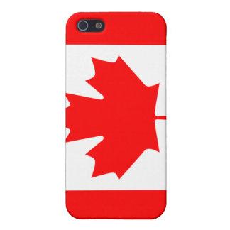 Kanadischer Flaggen-Speck-Kasten iPhone 5 Etui