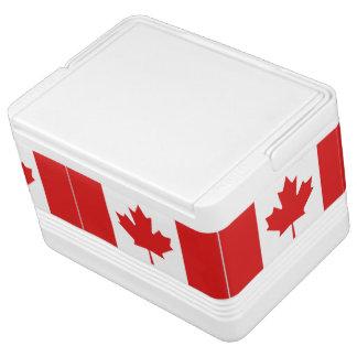 Kanadischer Flaggeniglu kann cooler Kühlbox