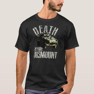 """Kanadischer gepanzerter """"Tod vor nehmen"""" T-Shirt"""