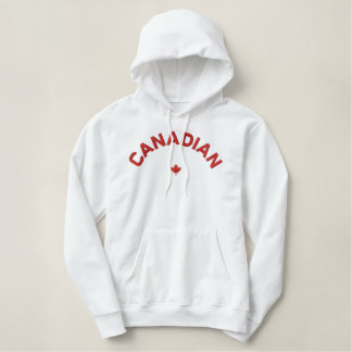Kanadischer Hoodie - rotes Kanada-Ahornblatt