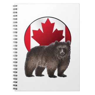 Kanadischer Lebensraum Notizblock